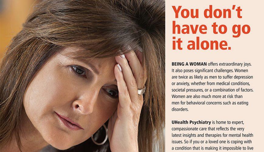 UHealth Psychiatry Ad
