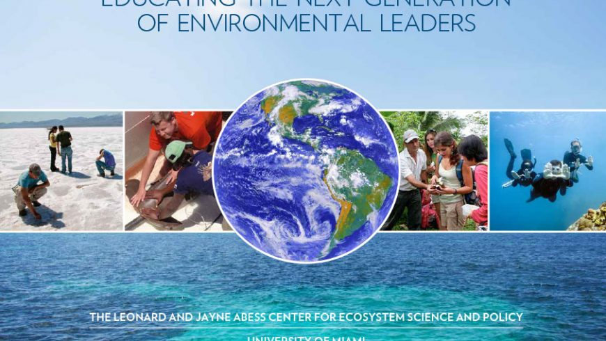 Abess Center Stewardship  Book